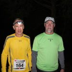 Troy and pacer Barry headed out at 60 miles