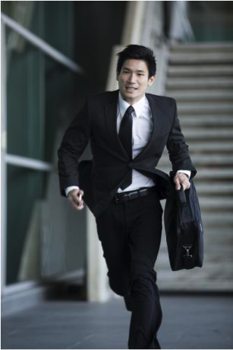 Man running at The Free Financial Advisor