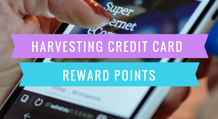 Harvesting Credit Card Reward Points