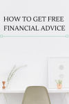 How to Get Free Financial Advice