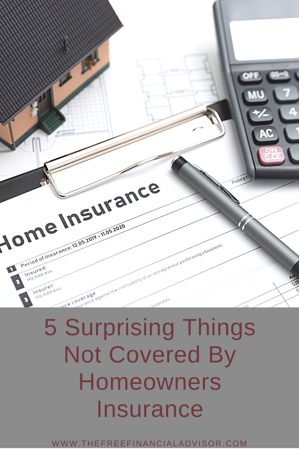 5 Surprising Things Not Covered By Homeowners Insurance